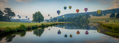 Balloons at Chatsworth House